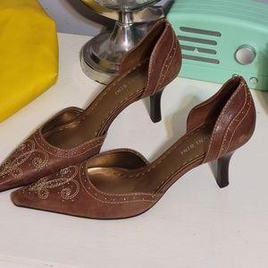 Gianni Bini brown heels Size 8.5
